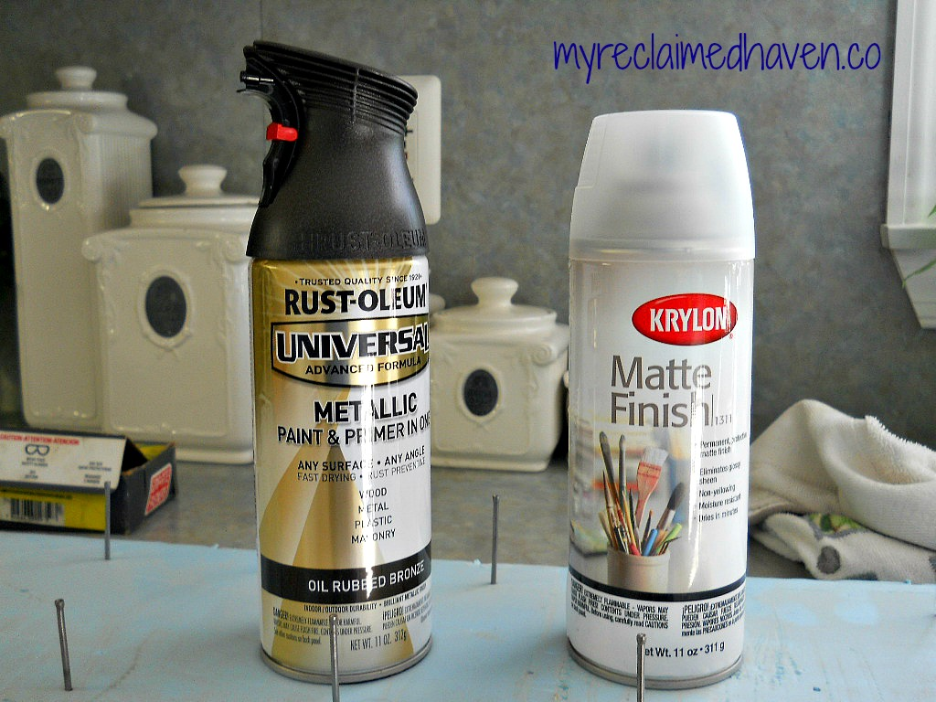 Quick Easy And Inexpensive Update With Spray Paint The