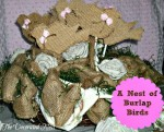 baby shower decorations, make your own baby shower decorations, baby bird shower decorations