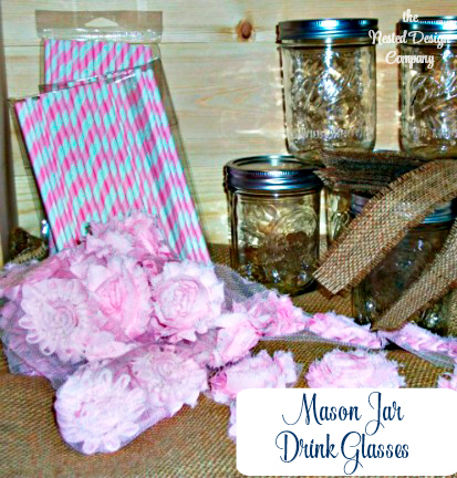 Vintage Mason jar drink cups-b-is-for-burlap-bird-baby-www.nestedddesigncompany.com
