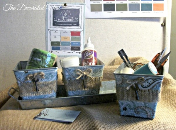 Tin Desk Caddy-the-decorated-nest