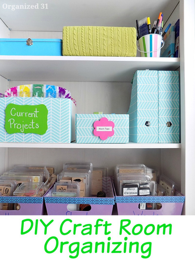 Diy craft room organizing organized31 copy the nested for Diy organization crafts