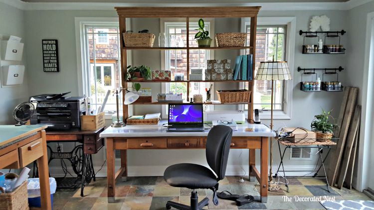 Crafting and office space-www.nesteddesigncompany.com
