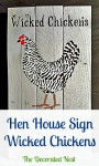 Stenciled Fall Decor & Wicked Chickens!