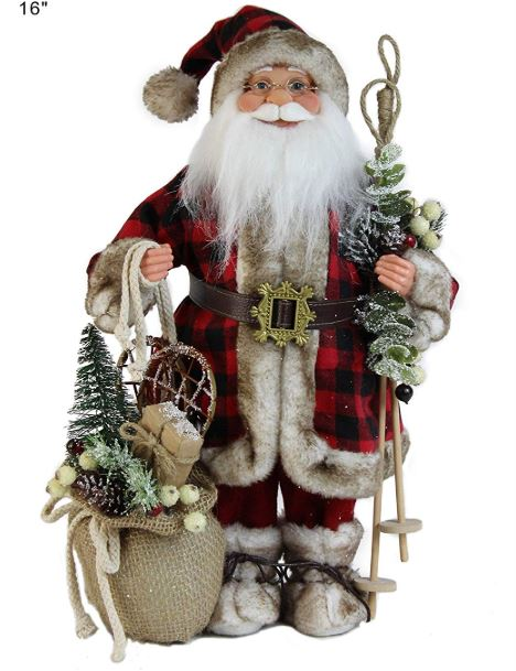 Buffalo plaid santa claus-rustic-plaid-santa claus-www.nesteddesigncompany.com
