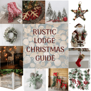 Rustic Lodge Christmas Guide