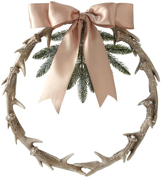 antler-wreath-home-decorators-rustic christmas decorations-www.nesteddesigncompany.com