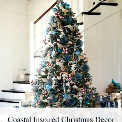 Coastal Inspired Christmas Decor