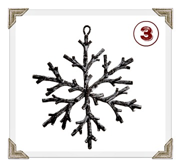 country rustic snowflake michaels 2