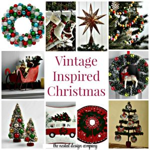 Vintage Inspired Christmas Decor