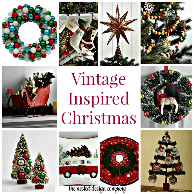 vintage holiday decorations - Christmas Decorating Companies