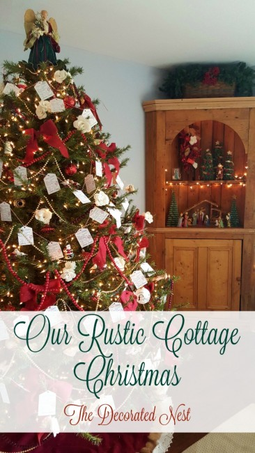 rustic cottage christmas--the-decorated-nest