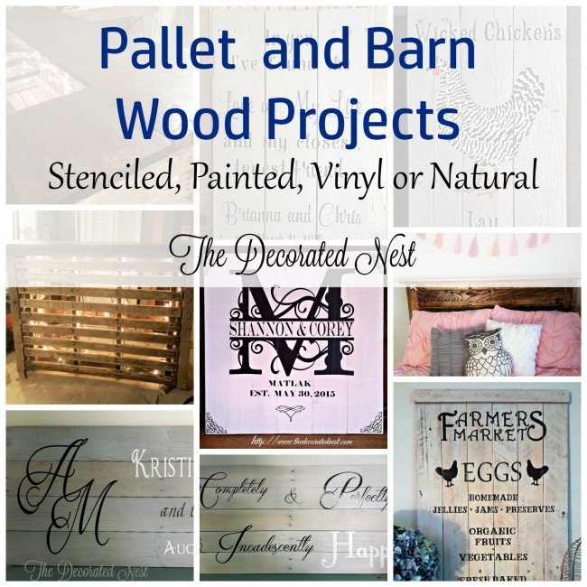 Pallet and Barn Wood Projects
