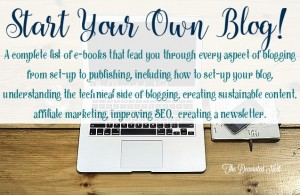 start your own blog-www.thedecoratednest.com
