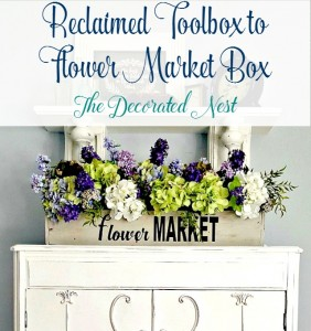 A Reclaimed Toolbox to Flower Box