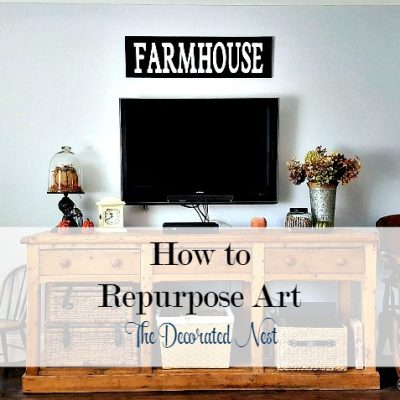 How to Repurpose Art