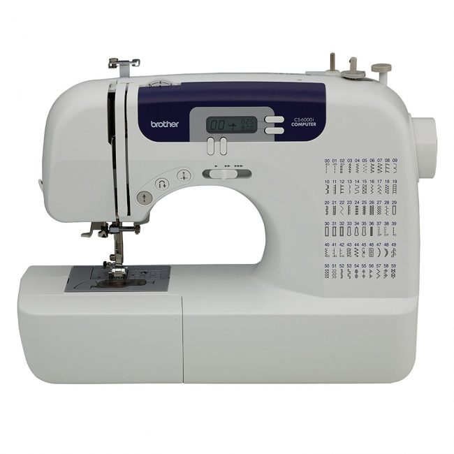 brother cs6000i sewing machine-crafters gift guide-www.nesteddesigncompany.com