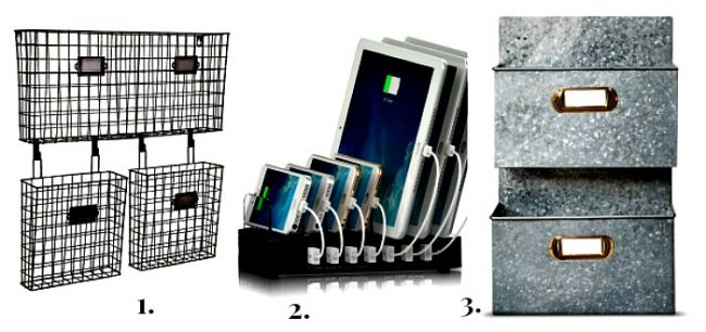 organize everything- galvanize letter holder--organize everything-www.nesteddesigncompany.com