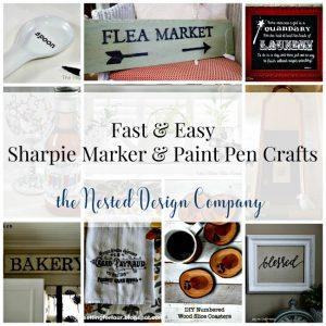 Fast & Easy Sharpie Marker & Paint Pen Crafts-www.nesteddesigncompany.com