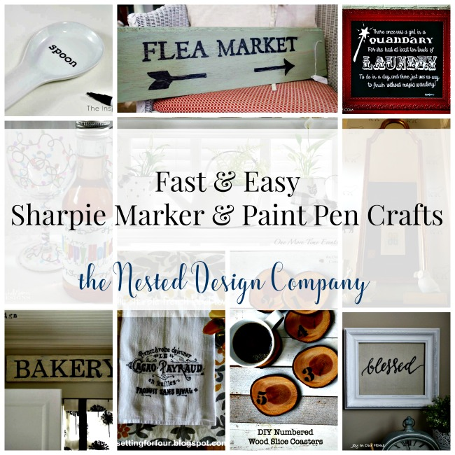 Fast & Easy Sharpie Marker & Paint Pen Ideas!