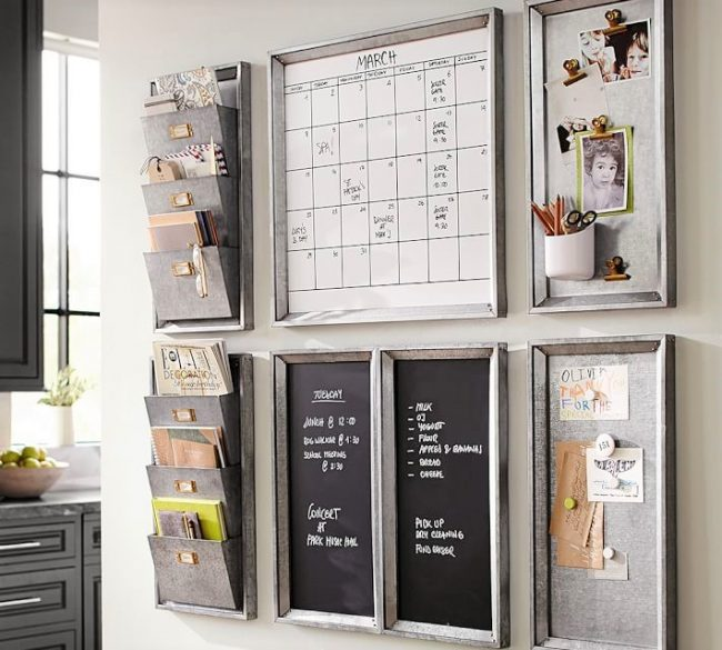 Command Center Pottery Barn-Organize it-www.nesteddesigncompany.com