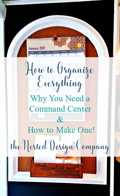 Why You Need A Command Center
