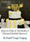 How to Plan & Decorate a Themed Bridal Shower