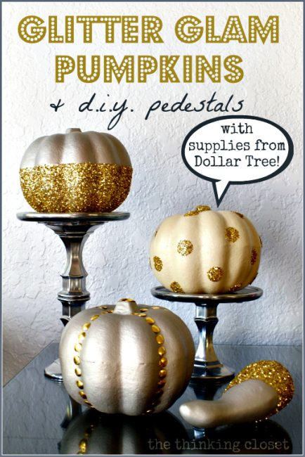 Glitter Glam Pumpkins and Pedestals-20-Fall-Pumpkins-to-Make-or-Buy-www.nesteddesigncompany.com