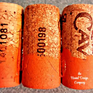 Glue Corks Together-how-to-make-wine-cork-pumpkins-www.nesteddesigncompany.com