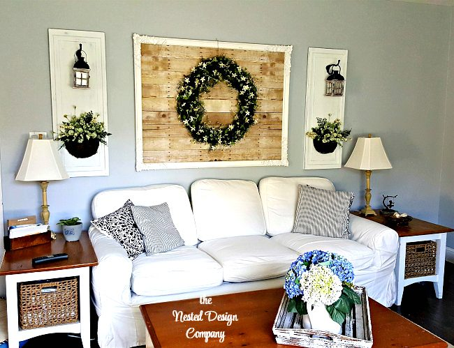 Living Room Wall-how-to-make-candle-lantern-wall-sconces-www.nesteddesigncompany.com
