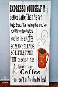 Coffee Sign-make your own-www.nesteddesigncompany.com