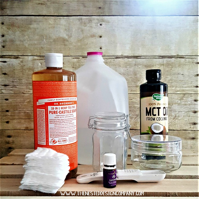Everything you need to DIY makeup remover pads