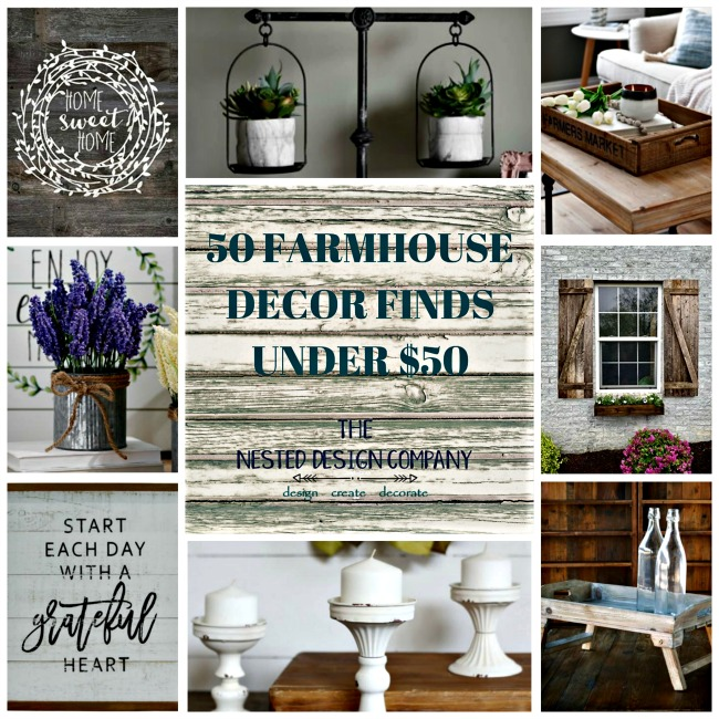 50 Farmhouse Decor Finds