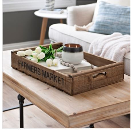 Farmers Market Crate tray