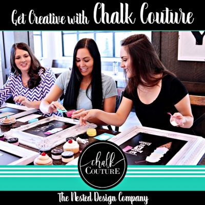 Creating with Chalk Couture!  NO Artistic Talent Needed!