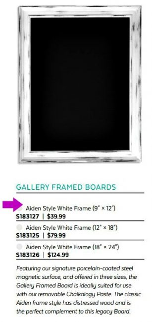 Chalk Couture Aiden Frame