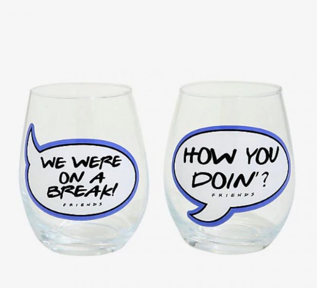friends stemless glasses-gifts-for-fans-of-friends-www.nesteddesigncompany.com