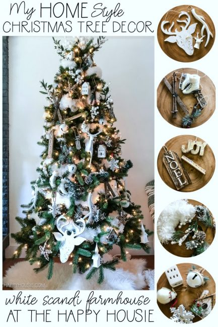 My-Home-Style-White-Scandi-Farmhouse-Christmas-Tree-Decor-at-the-happy-housie12-inspirational-christmas-trees-www.nesteddesigncompany.com