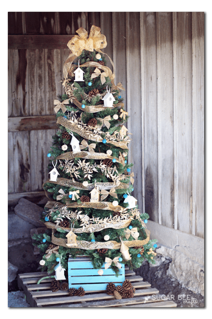 home-tweet-home-themed-Christmas-tree-diy-idea-SUGAR BEE CRAFTS-12-inspirational-christmas-trees-www.nesteddesigncompany.com